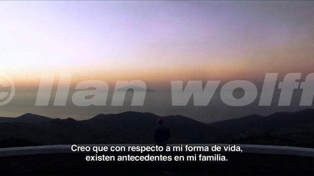 "CLIP 3 DOCUMENTAL ""ILAN WOLFF, UN CAMINO IN VERSO"""